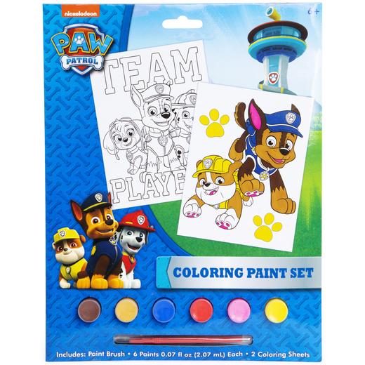 Paw Patrol Coloring Paint Set Five Below Let Go & Have Fun