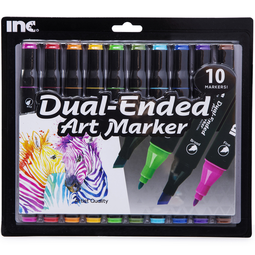 Dual Ended Art Markers 10 Pack Five Below Let Go Have Fun