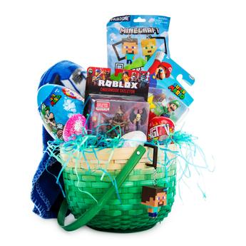 video game easter basket bundle